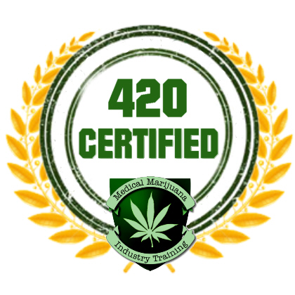 Medical marijuana training and education certificate