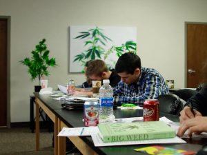 College for marijuana